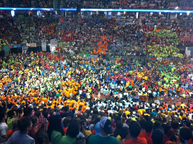 End of thon photo