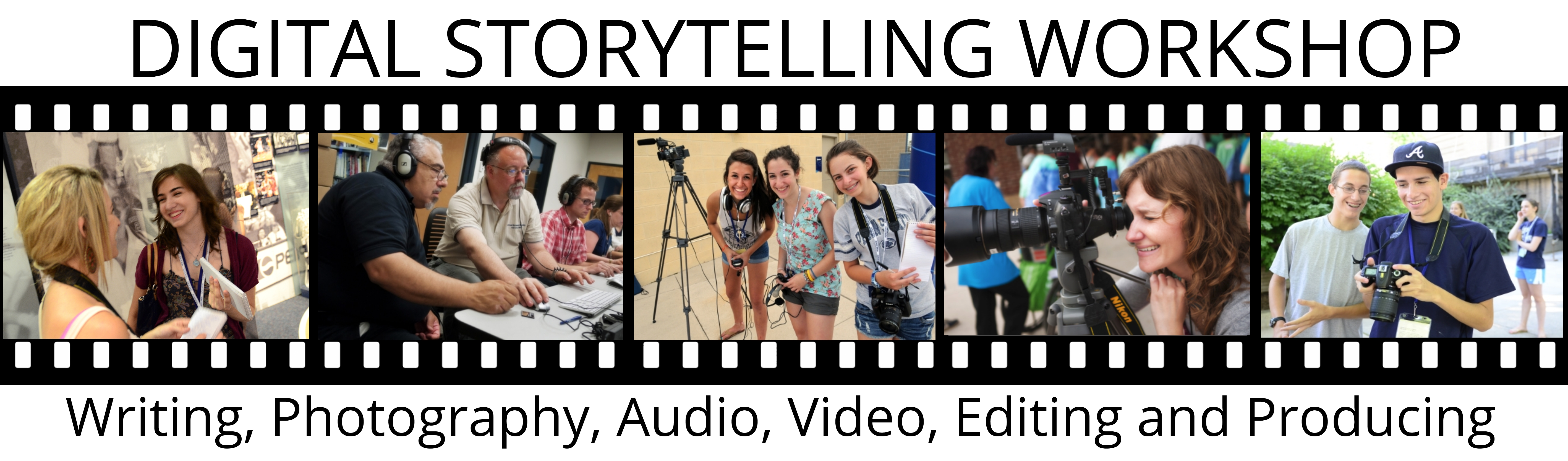 College of Communications Digital Storytelling Conference promos.