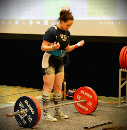 Himich Competing at Nationals
