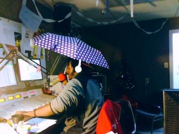 Ty in the studio