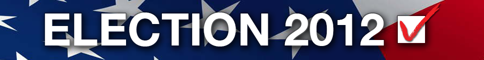 Promotional Banner for Election 2012 Special Coverage Section
