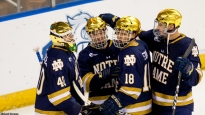 MANCHESTER, NH - MARCH 25: during game two of the NCAA Division I Men's Ice Hockey Northeast Regional Championship semifinal at the SNHU Arena on March 25, 2017 in Manchester, New Hampshire. (Photo by Richard T Gagnon/Getty Images) *** Local Caption *** C