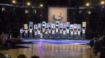 The final fund raising total is revealed at Thon 2018. Since its inception more than 40 years ago, the event has raised more than $100 million to benefit the families of children with cancer through direct financial support, pediatric cancer research funding and financial support of Penn State's Hershey Medical Center. This year THON raised $10,151,663.93, about $106,000 more than last year.