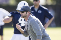 Penn State Defensive Coordinator Brent Pry
