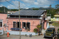 Casa Pueblo's solar array.