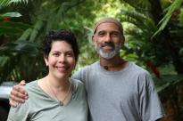 Sarah and Paul Ratliff at Mayani Farms.