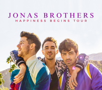 Jonas Brothers Happiness Begins Tour art