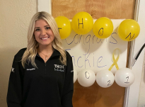 Jacqueline Strobel has participated in THON all four years she has been a student at Penn State.
