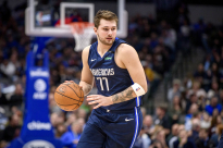 Feb 12, 2020; Dallas, Texas, USA; Dallas Mavericks guard Luka Doncic (77) in action during the game between the Mavericks and the Kings at the American Airlines Center. Mandatory Credit: Jerome Miron-USA TODAY Sports