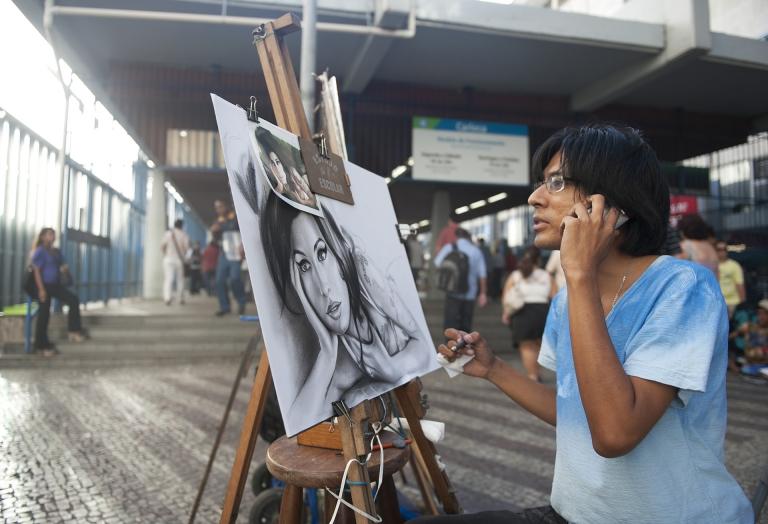 Celebrity portrait