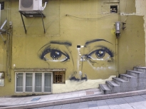 Another Victoriano piece featured on the streets of Hong Kong in the Central district.