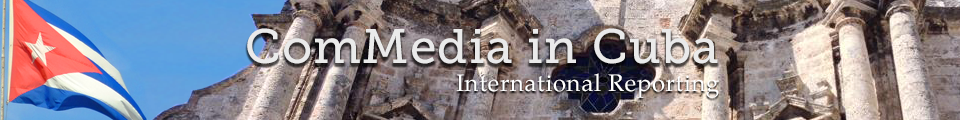 Promotional Banner for CommMedia in Cuba Special Coverage Section